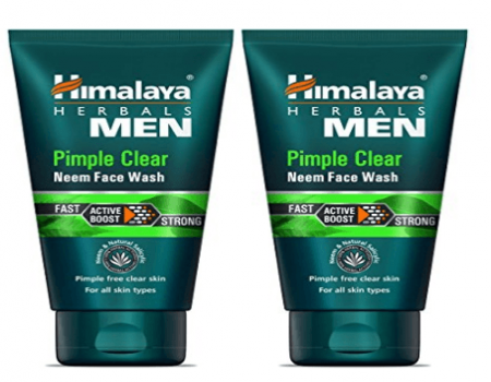 Buy Himalaya Men Pimple Clear Neem Face Wash, 50ml at Rs 40 on Amazon