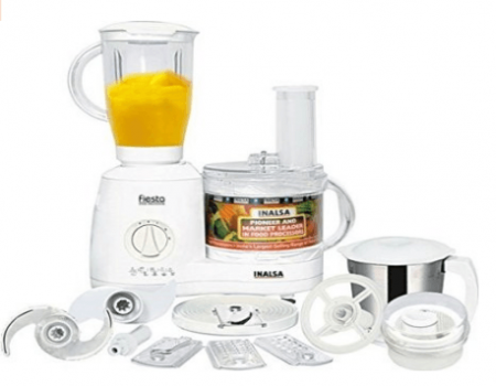 Buy Inalsa Fiesta 650-Watt Food Processor Amazon at Rs 3,499