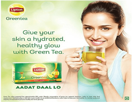 Buy Lipton Pure & Light Green Tea 250g from Amazon at Rs 98 Only