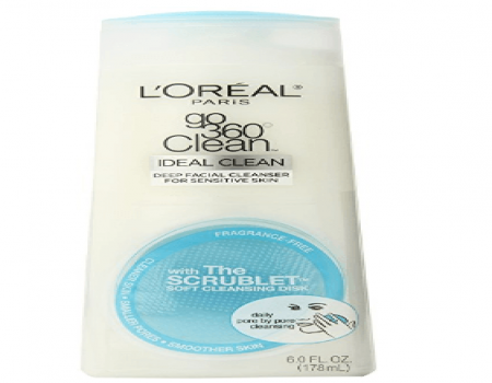 Buy L'Oreal Go360 Sensitive Skin Cleanser, 178ml at Rs 279 Amazon