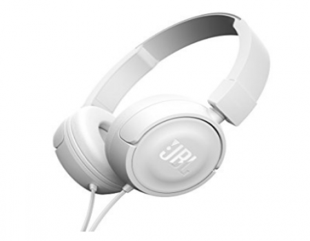 Buy JBL T450-BLACK Stereo Wired Headphones @ Rs 999 Flipkart