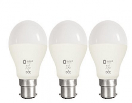 Buy Orient Electric B22 9-Watt LED Bulb at Rs 480 from Amazon