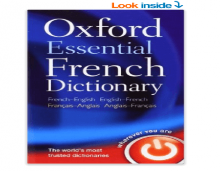 Buy Oxford Essential French Dictionary at Rs 74 Only from Amazon