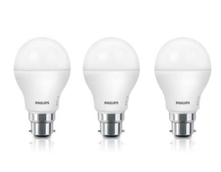Buy Philips 8.5W 2-in-1 LED Bulb Dual Shine Pack of 3 from Snapdeal at Rs 421 Only