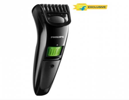 Buy Philips QT3310/15 Cordless Trimmer for Men (Black) At Rs 999 Only from Flipkart
