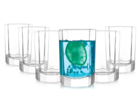 Buy Prego Fascino Series Glass Set 180 ml Pack of 6 at Rs 199 Flipkart