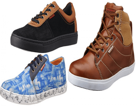 Amazon Footwear Offer: Get Upto 50% OFF + Extra 10% Discount on Branded Footwear [Valid Only For Prime Members]