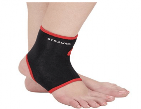 Buy Strauss Ankle Support, Tight Fit from Amazon at Rs 155 Only
