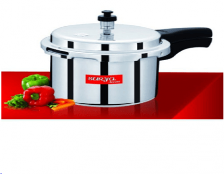 Buy Surya Accent 3 L Aluminium Outer Lid Pressure Cooker At Rs 398 Only From Snapdeal