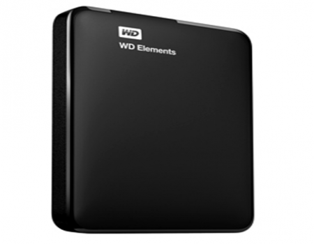 Buy WD Elements 2TB Portable External Hard Drive (Black)  just at Rs 3,999 only From Amazon