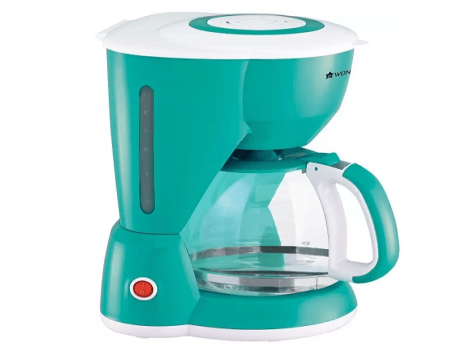 Buy Wonderchef 10 cups Coffee Maker (Green) At Rs 999 Only from Flipkart