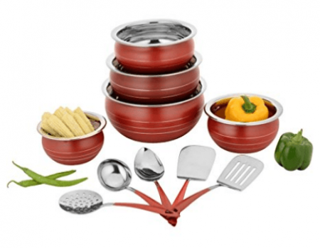 Buy Ceramic Cookware Set of 10 Cook n Serve Casseroles Amazon at Rs 599