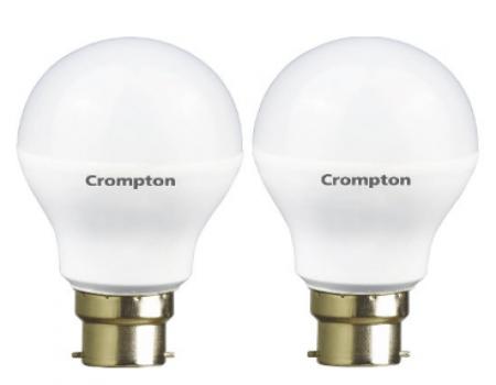 Buy Crompton 9WDF B22 9-Watt LED Lamp at Rs 199 Amazon