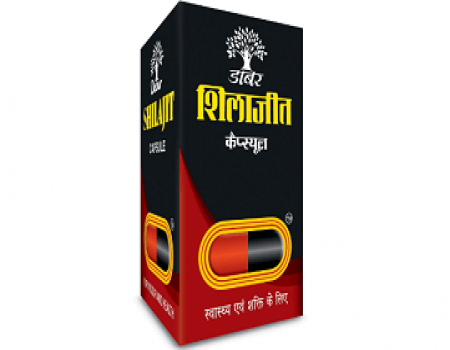 Buy Dabur Shilajit Capsules 100% Ayurvedic Purified Shilajit- 100 Capsules at Rs 350 from Amazon