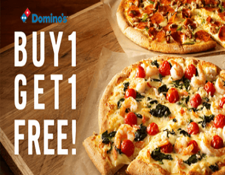 Dominos Coupons free Regular Medium Large pizza October 2017