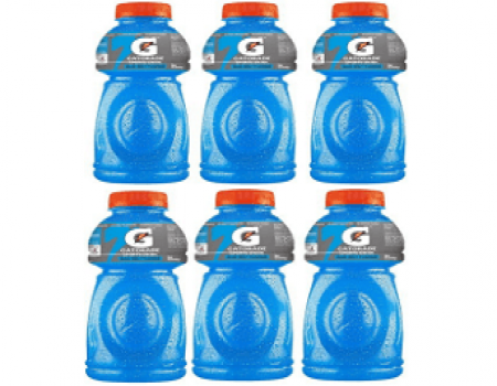 Buy Gatorade Sports Drink, Blue Bolt, 500ml each (Pack of 6) at Rs 192 from Amazon