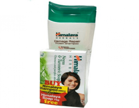 Buy Himalaya Damage Repair Protein Shampoo, 700ml  at Rs 207 from Amazon