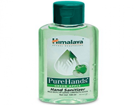 Buy Himalaya Herbals Pure Hands Hand Sanitizer 100 ml at Rs 50 from Amazon