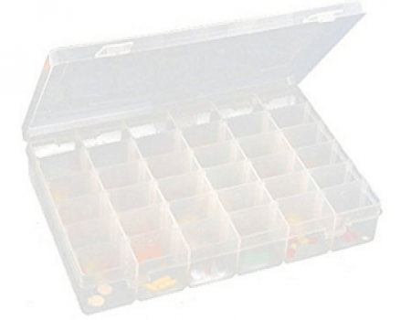 Buy Jianhua 36 Grid Cells Multipurpose Plastic Storage Box at Rs 297 from Amazon