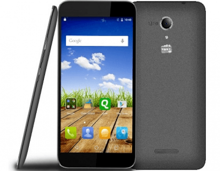 Buy Micromax Canvas Amaze 2 (Black, 16 GB) from Flipkart at Rs 5,999 Only