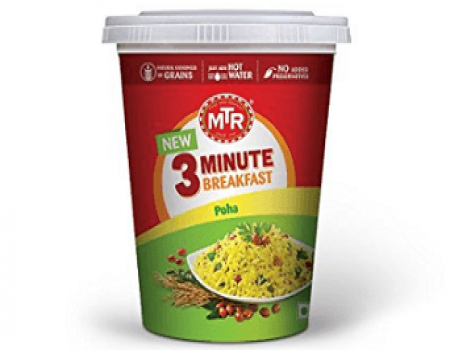 Buy MTR 3 Minute Breakfast Poha Box, 80g at Rs 31 from Amazon