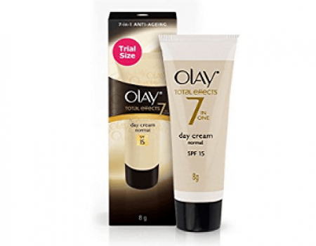 Buy Olay Day Cream Total Effects 7 in 1, Day cream normal SPF 15, 50g at Rs 399 from Amazon