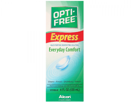Buy Opti-Free Express Lens Cleanser 120 ml at Rs 95 from Amazon