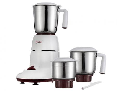Buy Prestige Hero (500 Watt) Mixer Grinder with 3 Stainless Steel Jar at Rs 2560 from Amazon