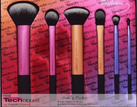 buy real technique sams picks makeup brush set pack of 6
