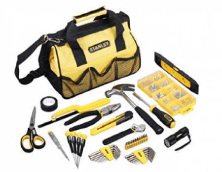 Buy Stanley Ultimate Tool Kit with 42 hand tools & 200 accessories at Rs 3,024 from Amazon