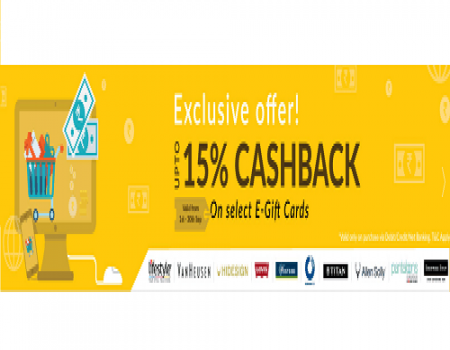 Woohoo Coupons & Offers: Get 20% Off On E-Gift Card Amazon, Flipkart December 2017