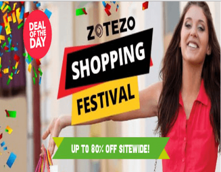 Zotezo Coupons Offers: Get Upto 90% Off On Products All Users - October 2017