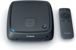 Buy Canon CS100 Connect Station (Black) just at Rs 1,999 Only From Flipkart [Original Price is Rs 24,299] + Extra 15% cashback* Using PhonePe