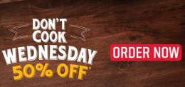 Pizzahut Coupons Offers Pizza Price - Don't Cook Wednesday 50% OFF- Dec 2018