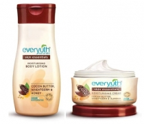 Buy Everyuth Moisturising Lotion 200 ml & Cream 100g with Cocoa Butter, Honey & Wheatgerm just at Rs 63 only From Paytmmall [After Cashback]