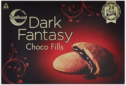 Buy Sunfeast Dark Fantasy Choco Fills, 600g at Rs 190 from Amazon