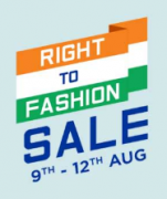 Myntra Right To Fashion Sale: Get Upto 50-80% Off on All Fashion Products + Extra 10% Discount Via Axis Bank Debit/Credit Card [9th-12th August]