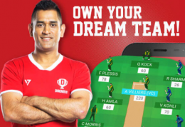 Dream11 Cricket Fantasy Coupons: Get 50% Cashback Upto Rs 350 On Load Money In Dream11 Using Paypal, Get Rs 100 Signup code RAJRA226UV, LALAB83UV
