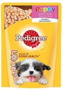 Amazon Pedigree Offer: Buy Pedigree Gravy Puppy Dog Food Chicken & Rice, 80 g Pouch just At Rs 10 From Amazon