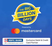 Flipkart Big Billion Days 2018 Offers: Upto 90% OFF On Mobiles, Electronics + 10% on HDFC Bank Card