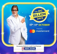 Flipkart Big Billion Days 2018 Offers 10th-14th Offers: Upto 90% OFF* On Mobiles, Electronics + 10% Discount on HDFC Bank Card