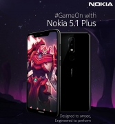 Nokia 5.1 Plus (Blue, 32 GB, 3 GB RAM) Big Billion Day Sale Flipkart Price just at Rs 7,999 + Extra 10% Instant Discount* with HDFC Bank Debit/Credit Cards