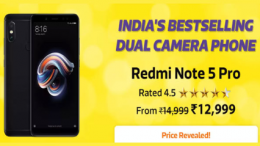 Buy Redmi Note 5 Pro [ 4GB RAM, 64GB ROM ] big billion Day Price just at Rs 12,999 Only from Flipkart