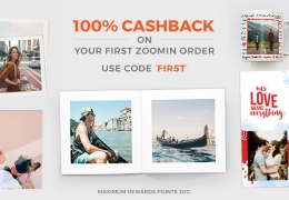 Zoomin Coupons Offer: Flat Rs 299 off on all Photo books, Extra Cashback Offers