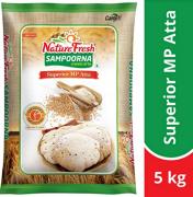 Buy Nature Fresh Sampoorna Chakki Atta, 10kg at Rs 299 from Amazon Pantry
