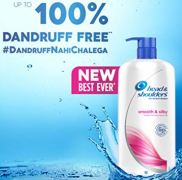 Buy Head & Shoulders Smooth & Silky Shampoo Men & Women (650 ml) at Rs 300 from Flipkart