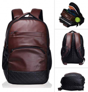 Buy F Gear Luxur Brown 25 liter Laptop Backpack at Rs 774 only from Amazon