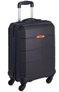 Buy Safari Small Cabin Luggage (55 cm)- STEALTH 55 4W BLACK at Rs 1,649 from Flipkart