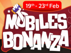 Flipkart Mobiles Bonaza Offer [19th - 23rd Feb]: Get Upto 80% OFF on Mobiles, Extra 10% Instant Discount* Via Axis Bank cards