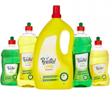 Buy Amazon Brand - Presto Dish Wash Gel - 750 ml (Lemon) just at Rs 77 only From Amazon